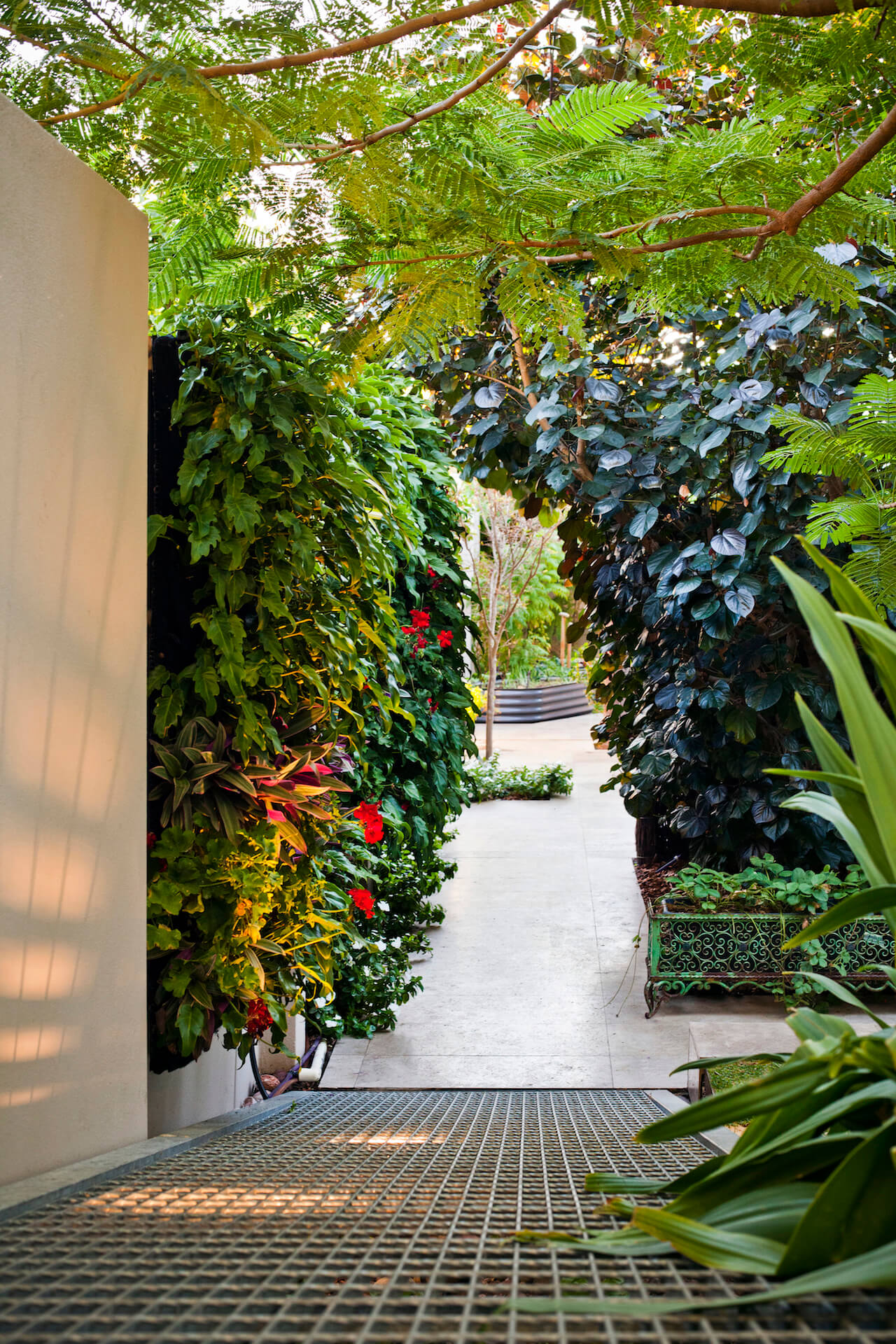 MCLA Vertical Garden